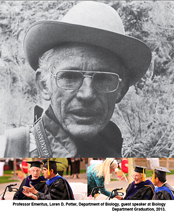 The Ross-Brown Endowment for the Loren Potter Endowed Chair in Plant Ecology